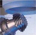 Professional grinding wheel. Bevel gear grinding