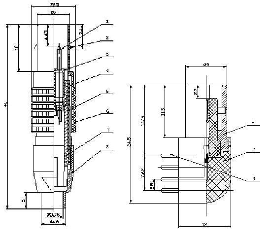 Y5A系列推拉式电连接器 3