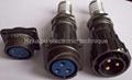 FQ24-3芯电缆插头,电缆插
