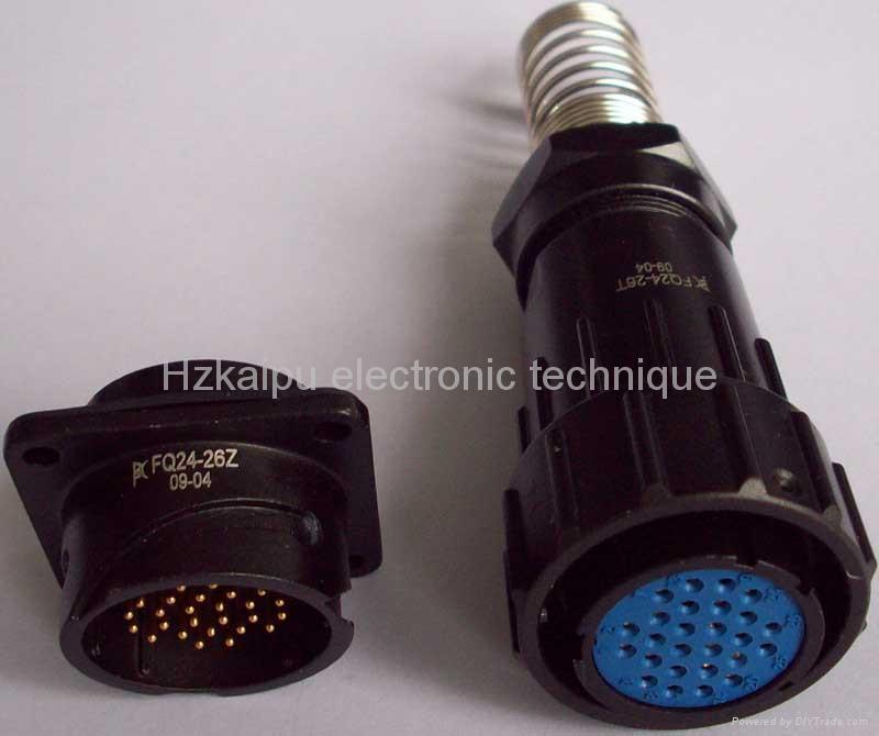 FQ24-26芯防水电连接器 1