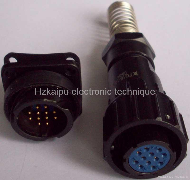 FQ18防水型系列圆形电连接器 1