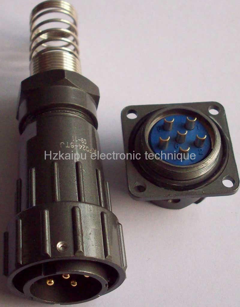 FQ24型大电流防水插头,面板式插座 1