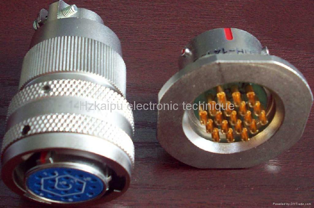 Y11H series sealed circular connectors 1