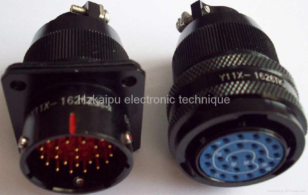Y11 series sealed circular connectors