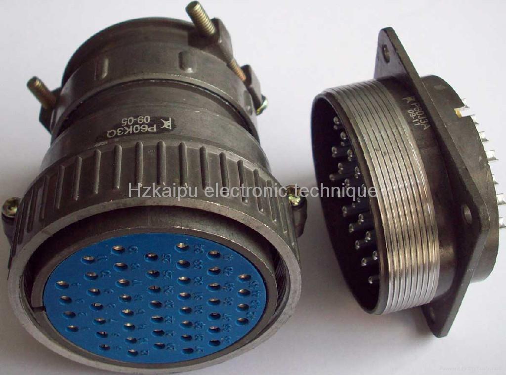 P60 型通用型圆形电连接器,航空插头 1