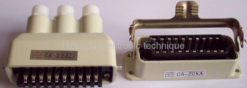 矩形电连接器CA系列 1