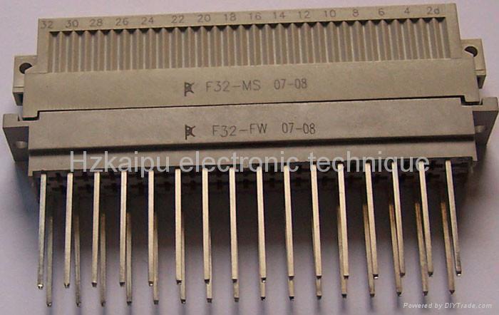 F型欧式矩形电连接器,接插件 1
