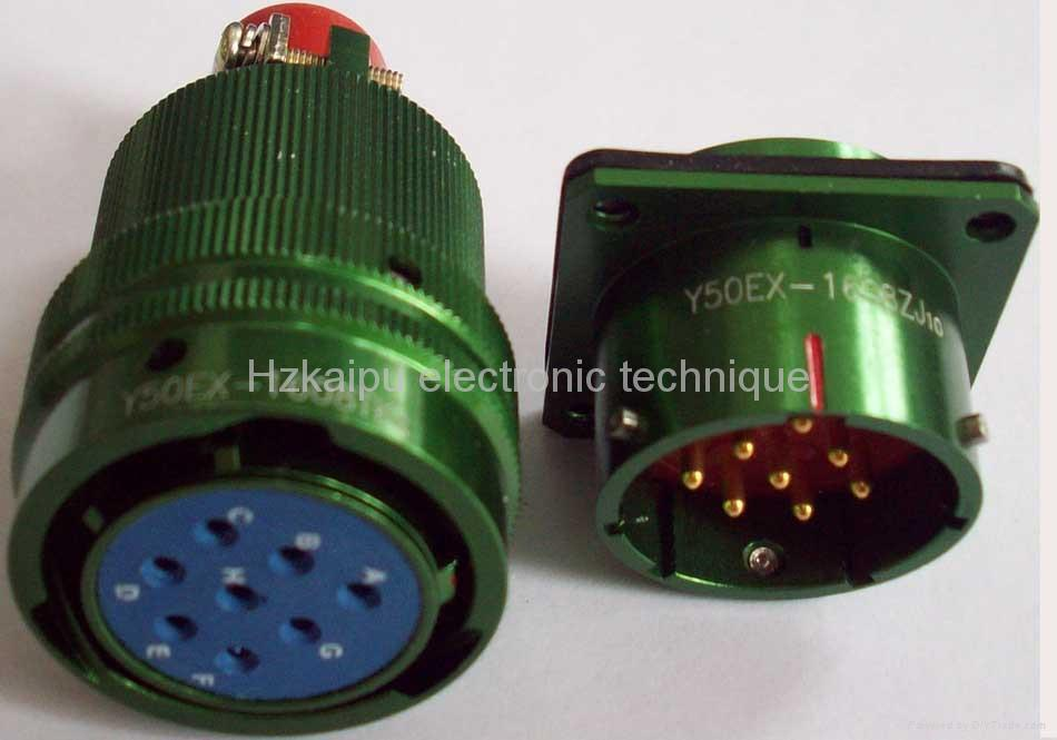 Y50EX-1626 Circular connectors as MIL-C-26482 series 2