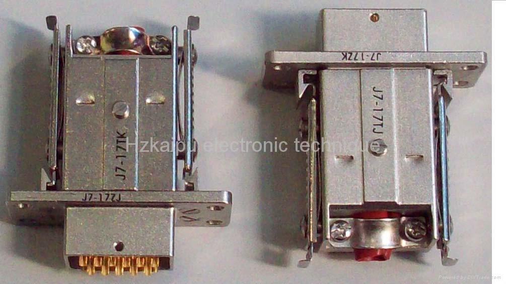 J7系列军品矩形接插件 1