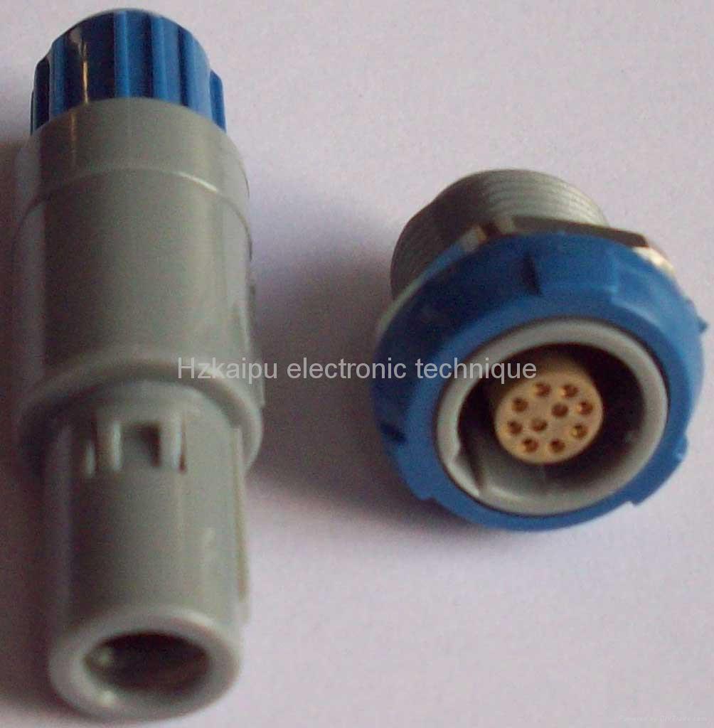 塑料直拔式航空插头 2
