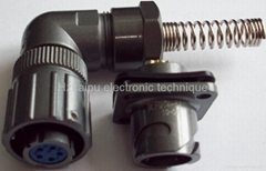 防水航空插頭FQ14-5芯