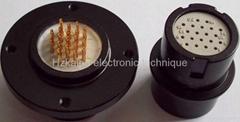 圆形航空插头,电连接器YZ