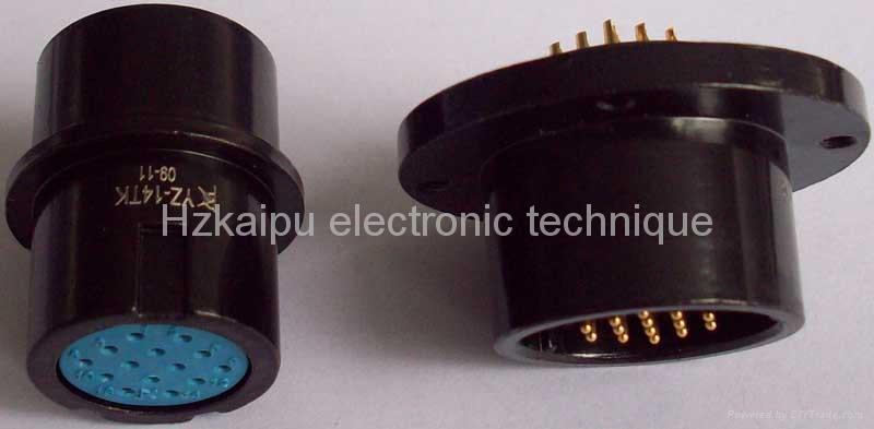 圓形航空插頭,電連接器YZ 2