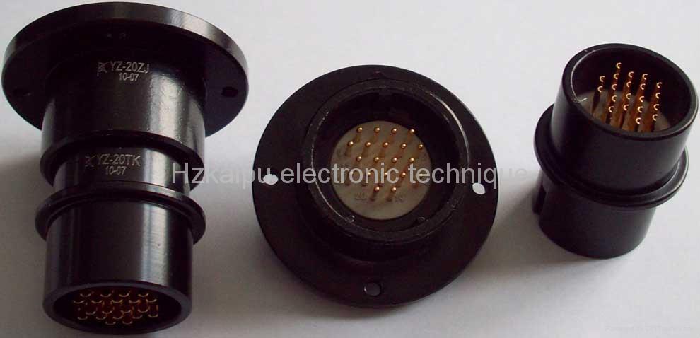 圓形航空插頭,電連接器YZ 3