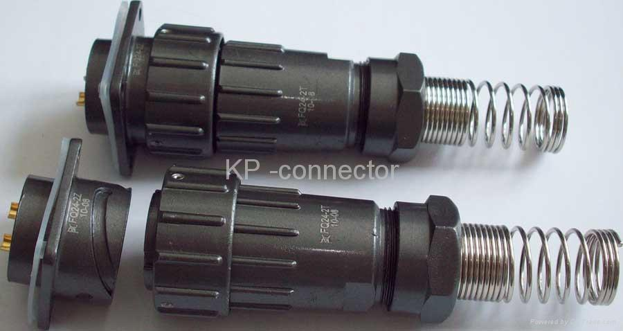 FQ24 series power  water proof connectors 2