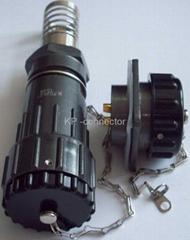 FQ24型大電流防水插頭,面板式插座帶防水蓋