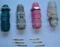 D series circular plastic connectors