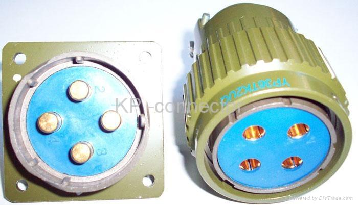 YP36 series circular connectors