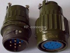 Y2M系列圆形电连接器,电缆对接式插头座