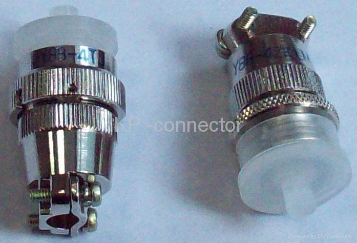 Y8B series small circular connectors