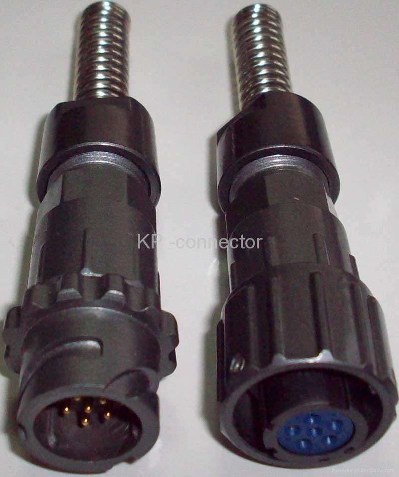 户外LED用防水插头座 2