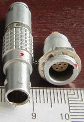 直拔式电连接器,推拉直锁航空插头