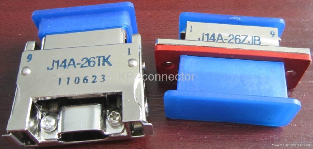 J14A系列軍品電連接器 1