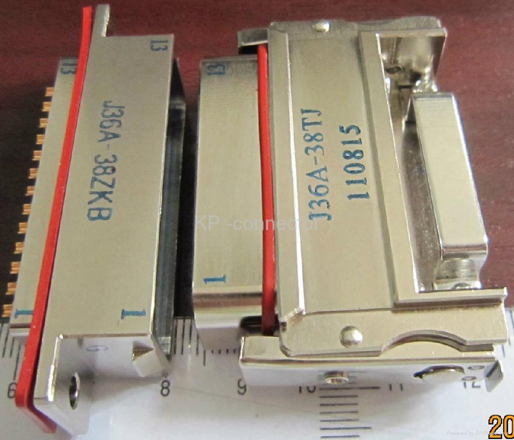 J36A系列矩形电连接器 1