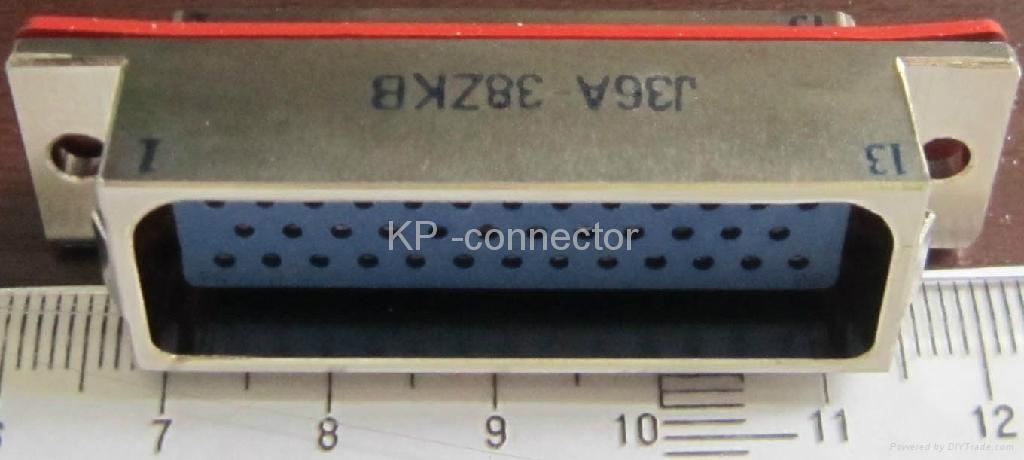 J36A系列矩形电连接器 3