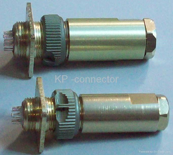PC-4小圆形符合俄罗斯标准航空插头 2
