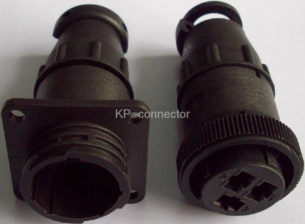 F3塑料圆形连接器壳体 1
