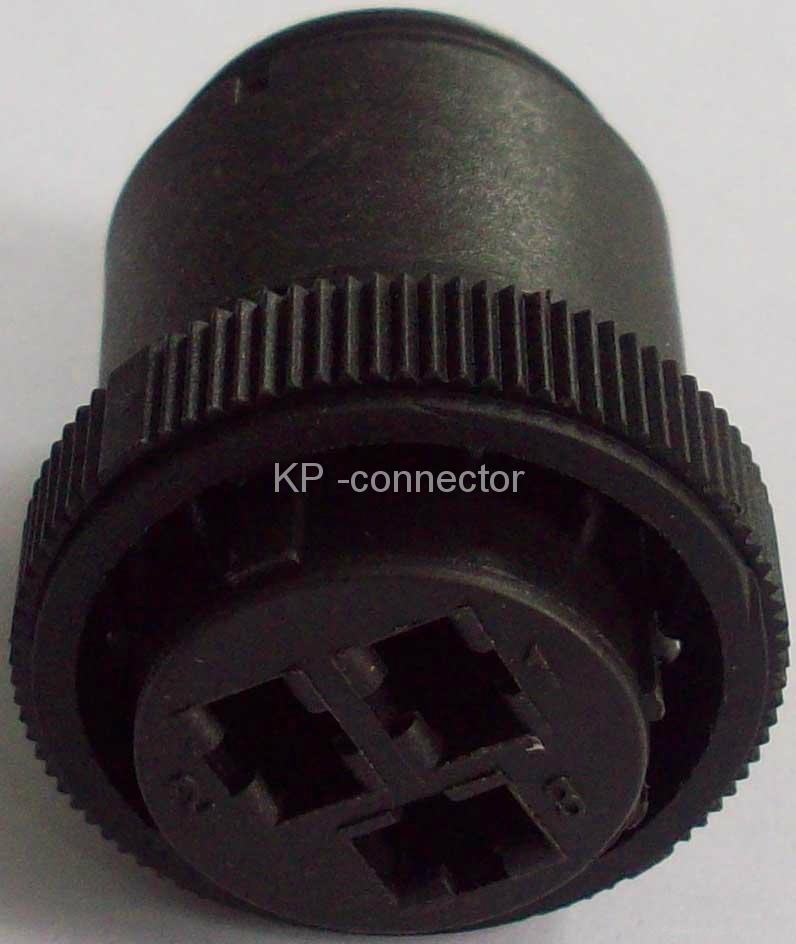 F3塑料圆形连接器壳体 2