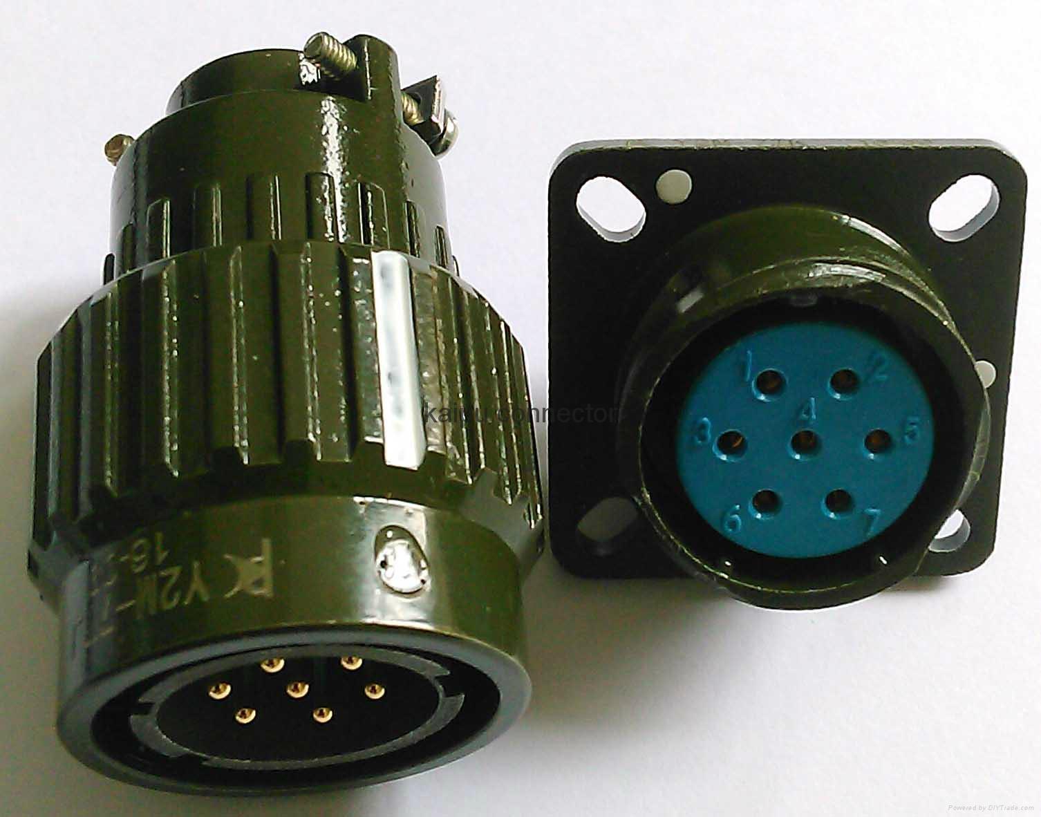 Y2M series circular connectors 3