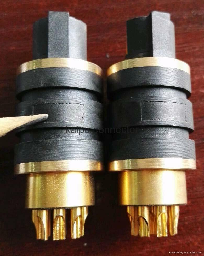 10芯耐高压电连接器,航空插头,高压插头 6