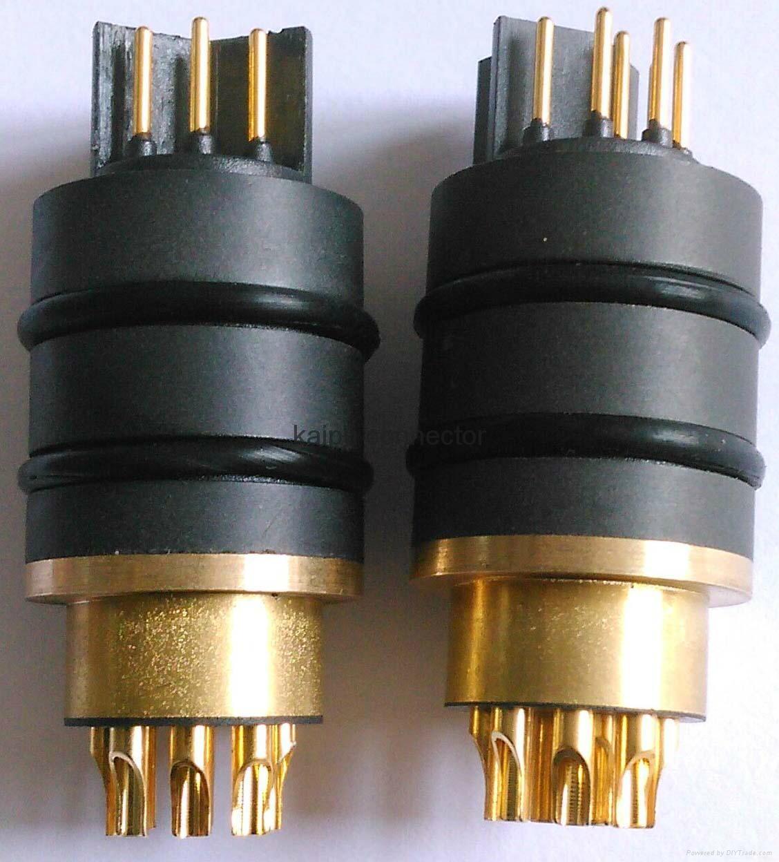 10芯耐高压电连接器,航空插头,高压插头 3
