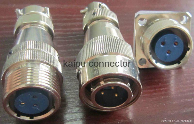 防水航空插头IP68级 5