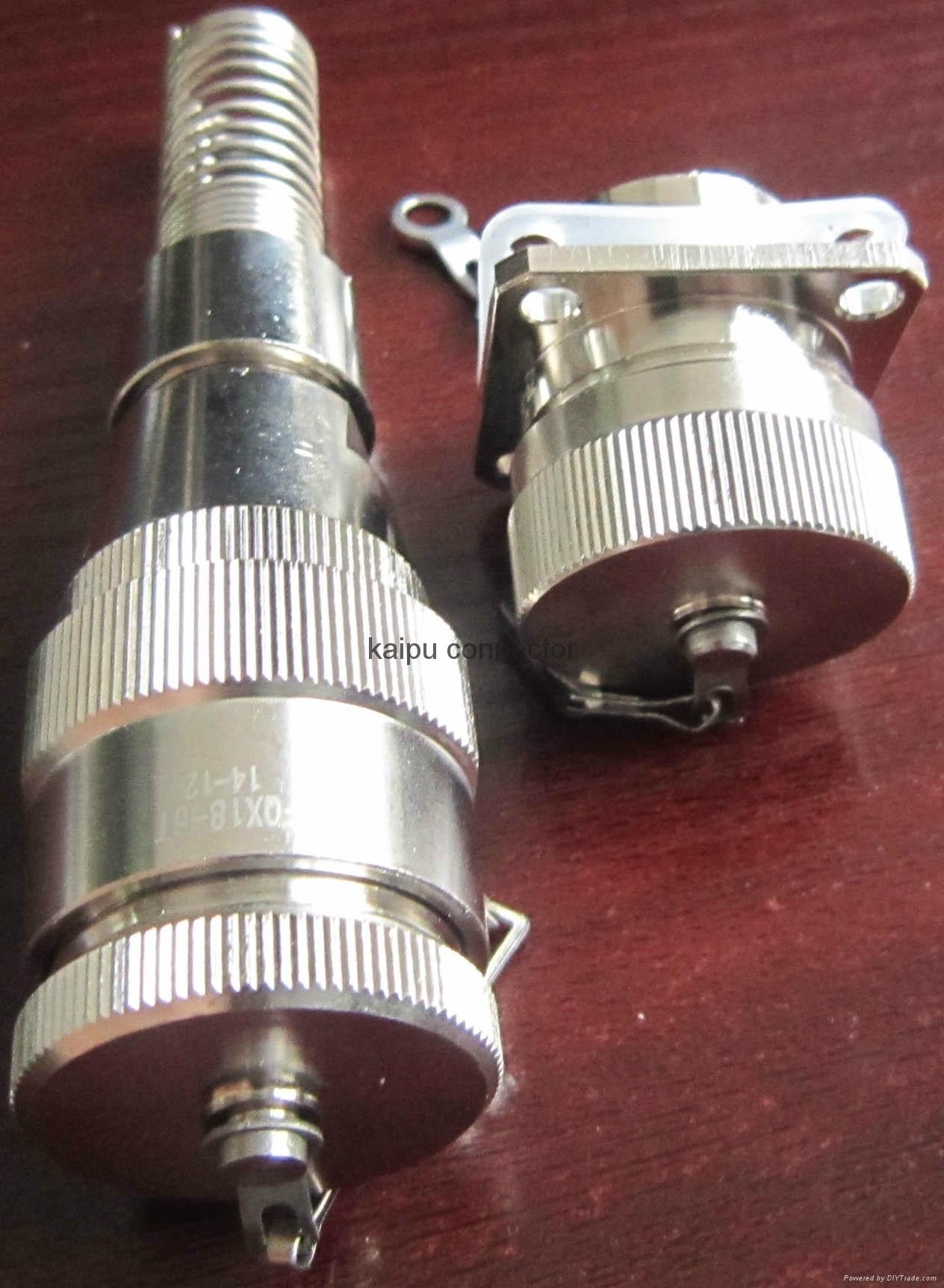防水航空插头IP68级 3