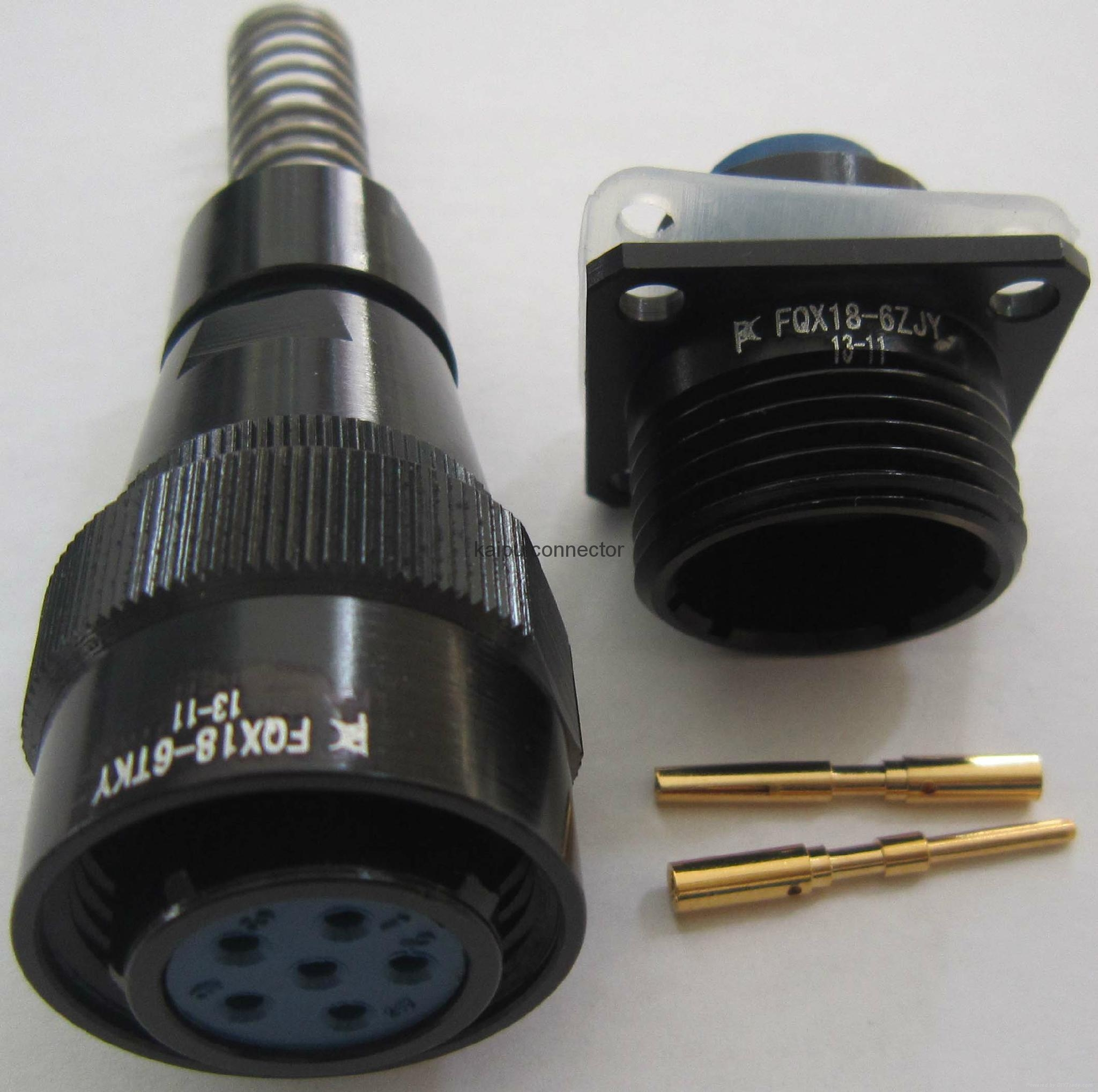 防水航空插头IP68级 2