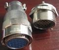 FQX24系列面板安装式防水插头座 3