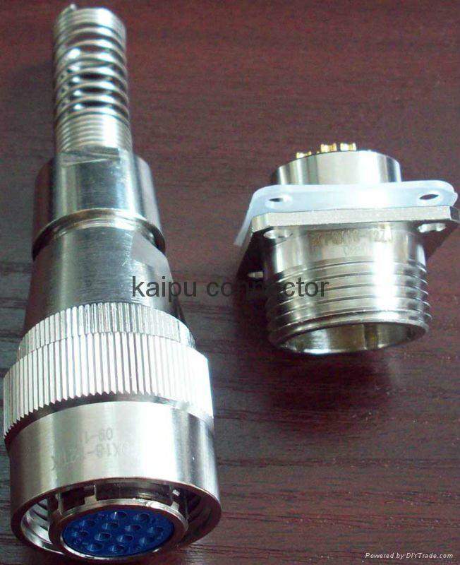 FQX18系列圆形防水型电连接器 3