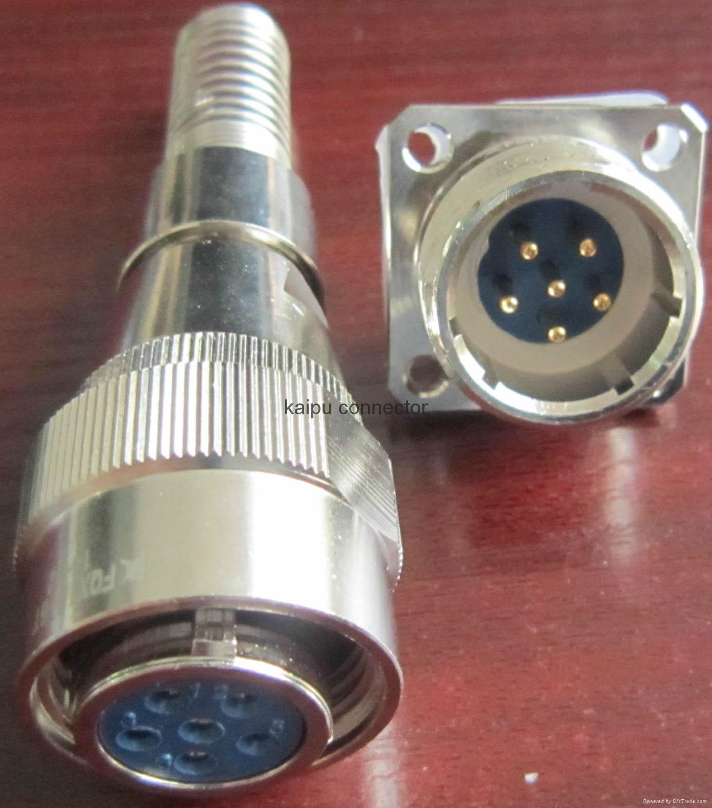 FQX18系列圆形防水型电连接器 2