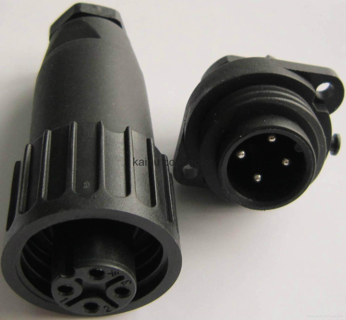 UL认证的KP32型防水电连接器 4