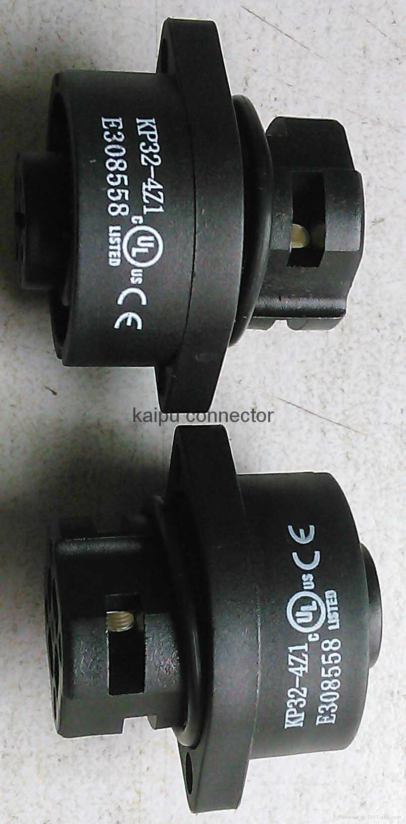 UL认证的KP32型防水电连接器 3