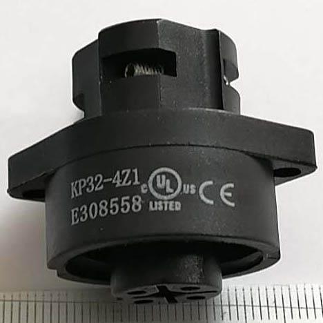 KP32型防水4芯母插座-UL认证 8