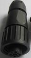 KP32型圆形塑料外壳防水4芯插头 8