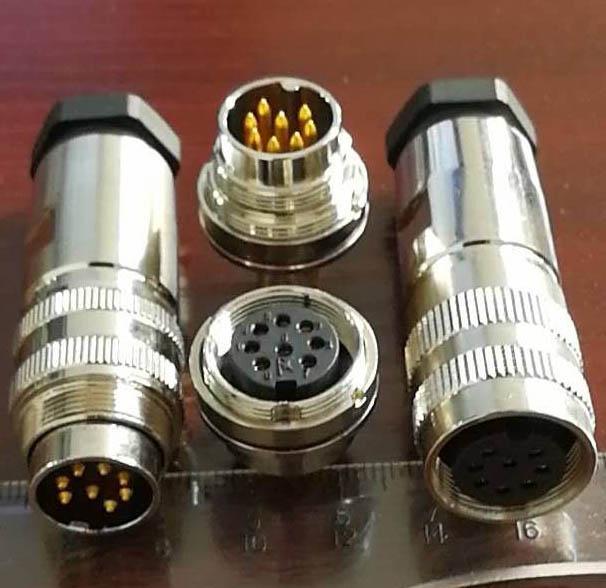 AISG電連接器,FS1系列航空插頭 6