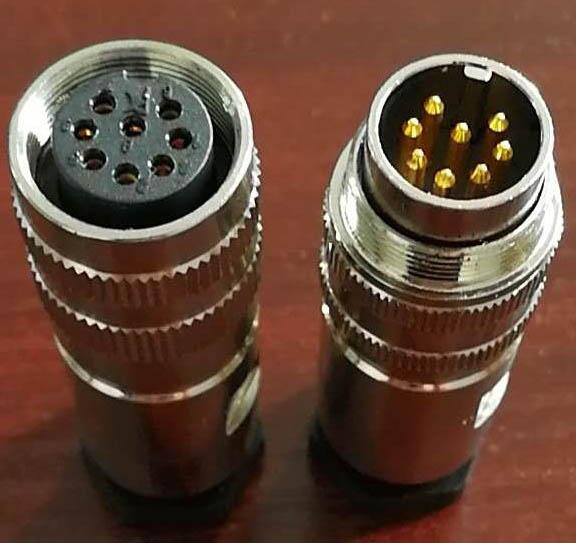 Water proof AISG connectors 9