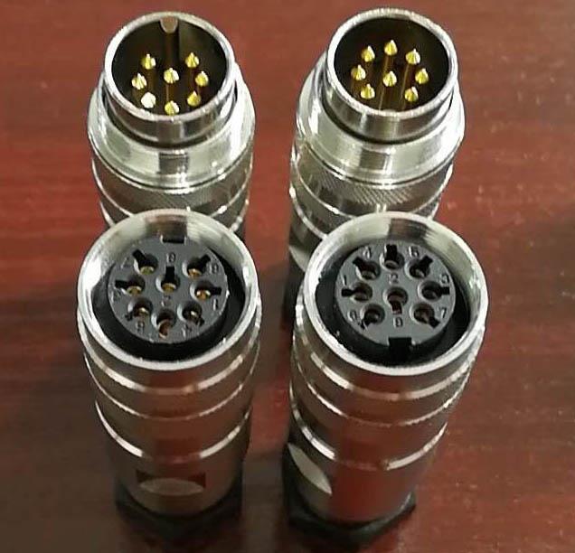 AISG電連接器,FS1系列航空插頭 10