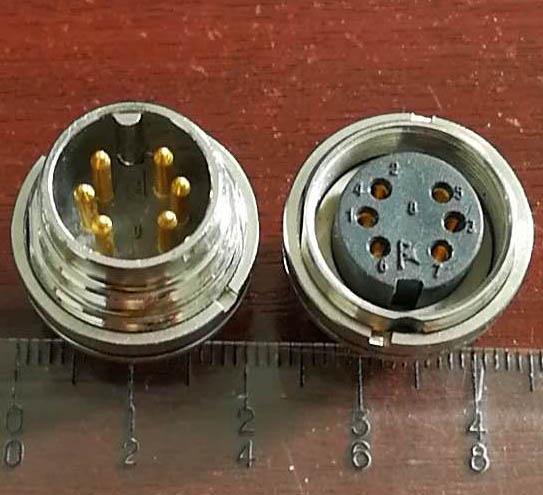AISG电连接器,圆形防水印制线路板式 4