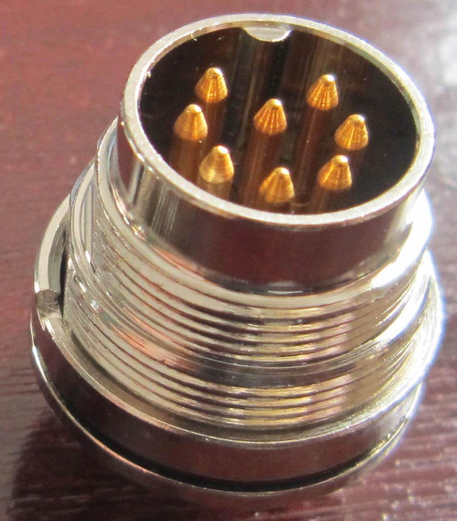 AISG电连接器,圆形防水印制线路板式 7